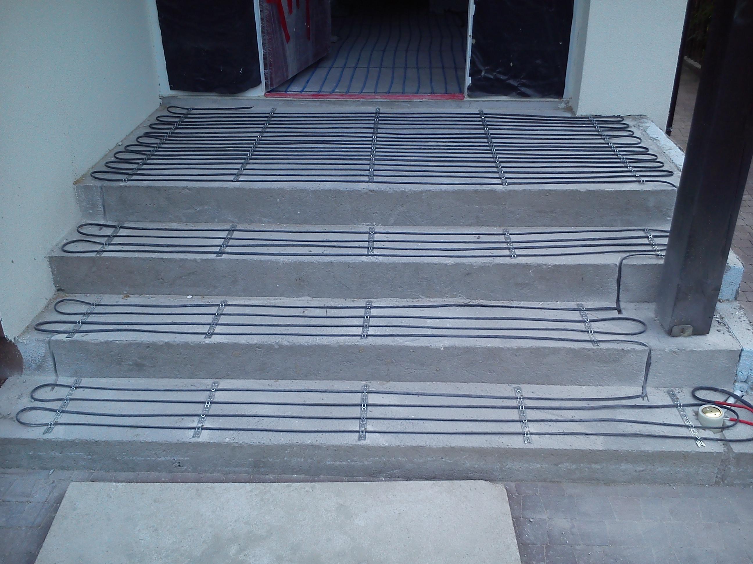 Ogrzewanie schodów