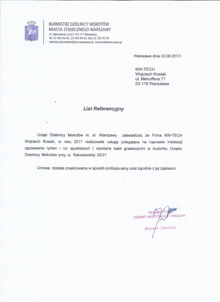 Referencje UDM
