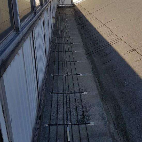 Ogrzewanie koryt dachowych